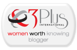 3 Plus International Blogger Badge