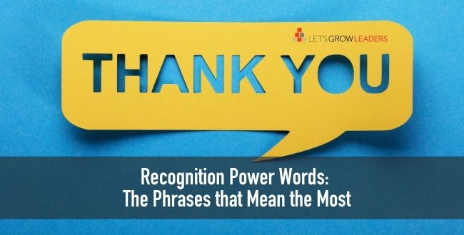 Recognition power words