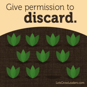 givepermissiontodiscard3 300x300 Discard and Replenish:  What Will You Stop Doing in 2013?