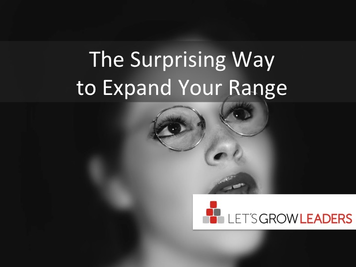 The Surprising Way To Expand Your Range
