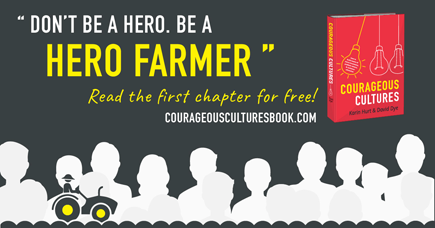 help your team deal with ambiguity - be a hero farmer
