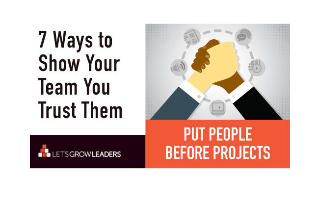 7 Ways to Show Your Team You Trust Them