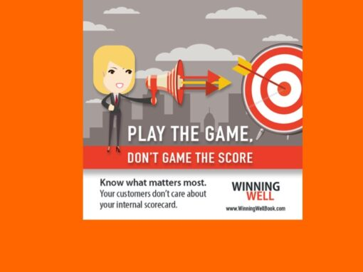 How to Improve Your Results: The Score Isn't the Game