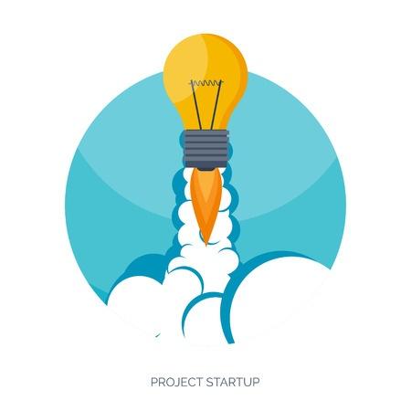 rocket light bulb