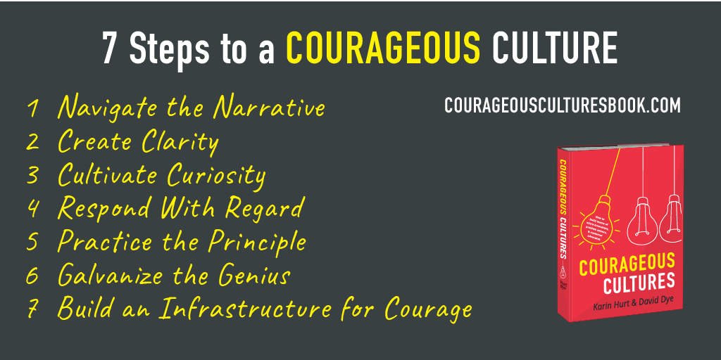 7 steps to building a courageous culture