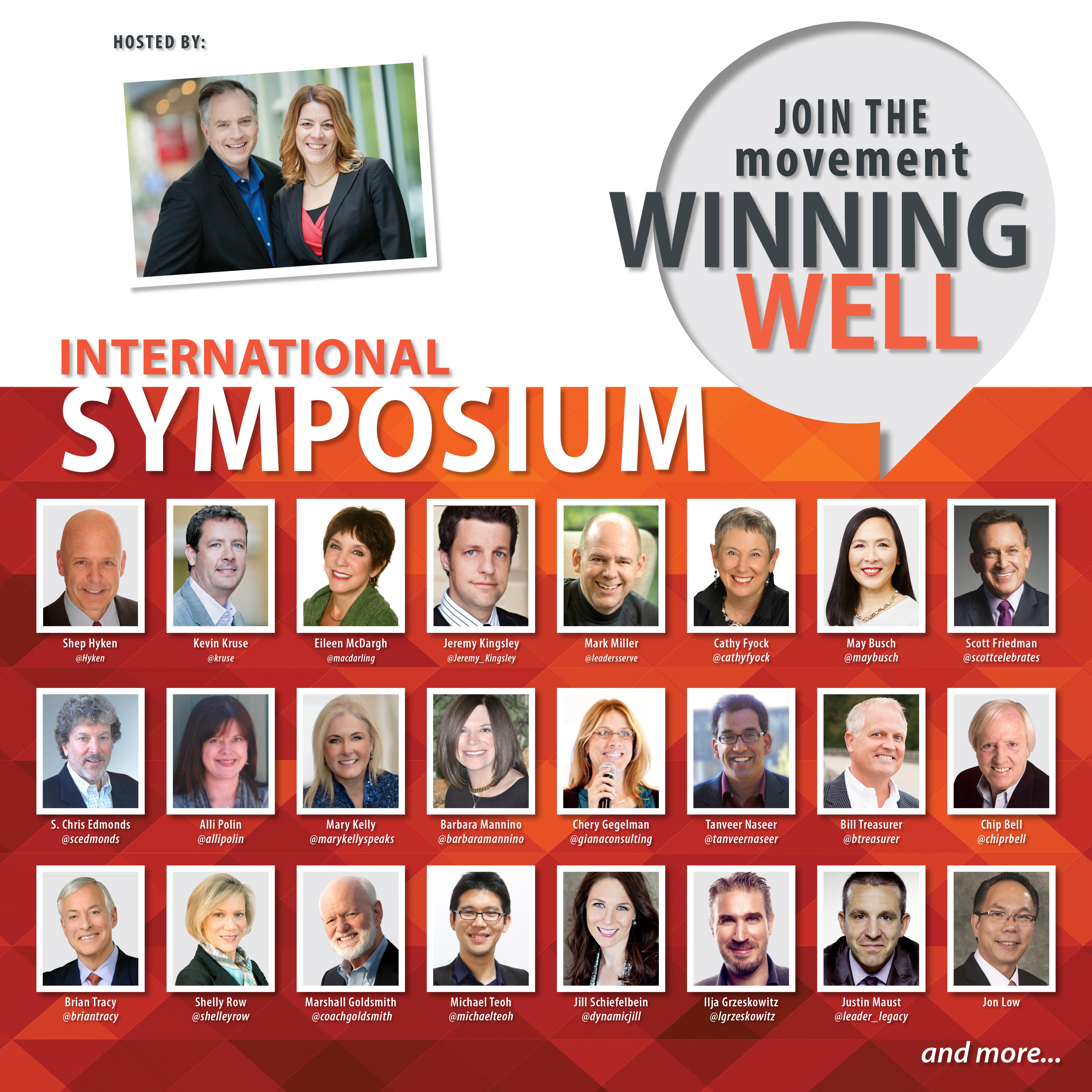 The Power of Community: Introducing the International Winning Well Leadership Symposium