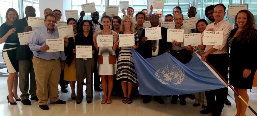 2 day leadership training UN