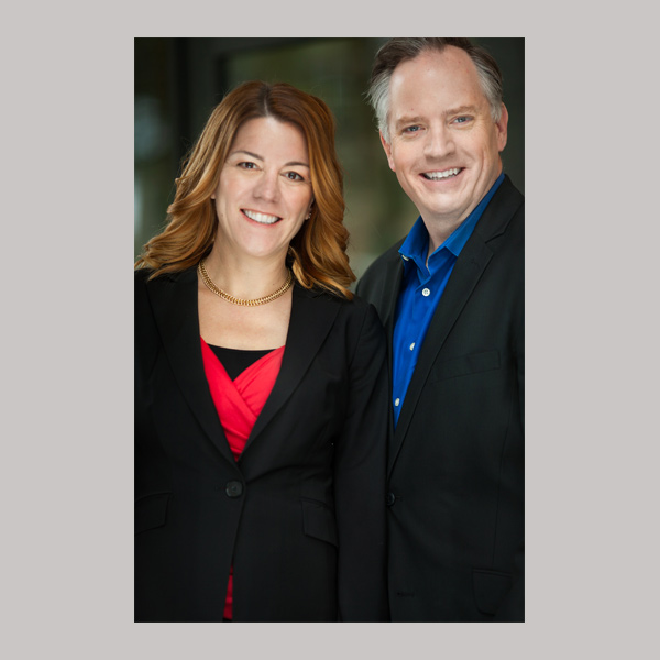 Karin Hurt and David Dye portrait