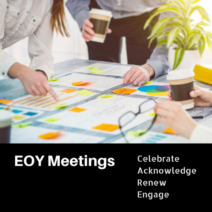 End-of-year meeting:How to host a great end of year meeting