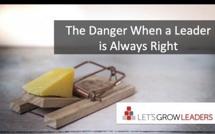 danger when leader is always right