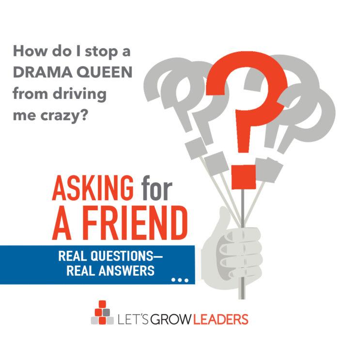 how do I stop workplace drama?