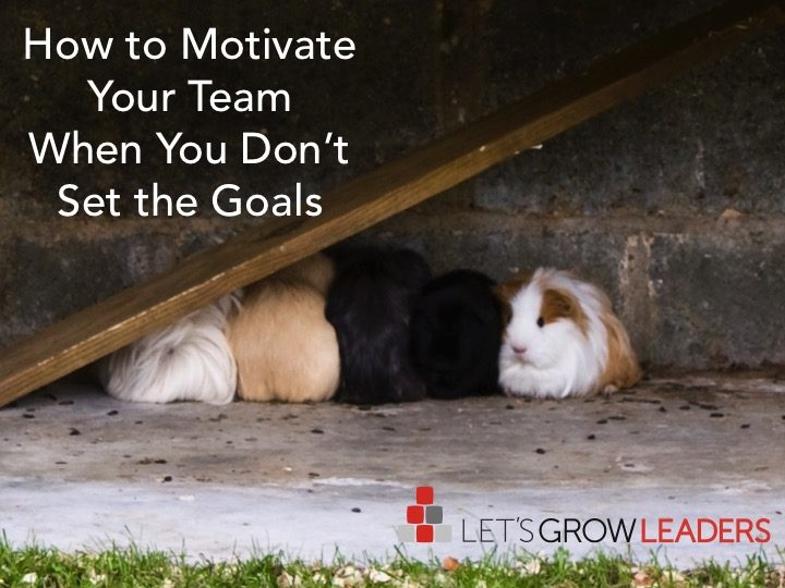 How to Motivate Your Team - Not Your Goals