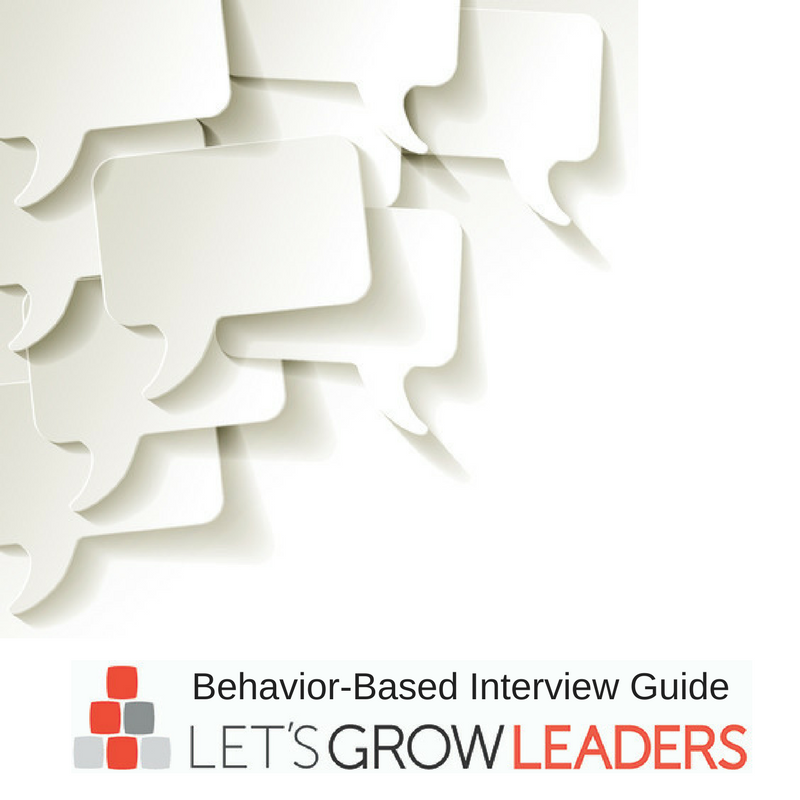 Leadership Competencies: How to Interview to Find the Best Candidate