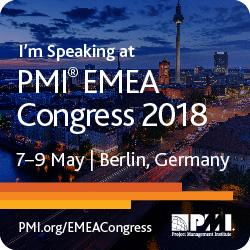 PMI EMEA Congress 2018 Karin Hurt and David Dye