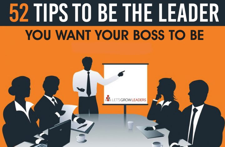 Be the Leader 52 Tips