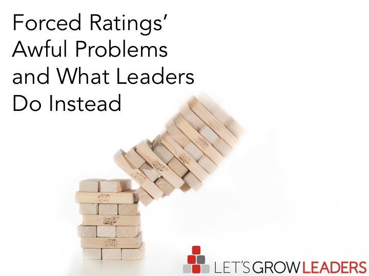 Forced Ratings - Awful Problems and What Leaders Do Instead