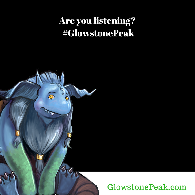 Glowstone Peak Are you listening