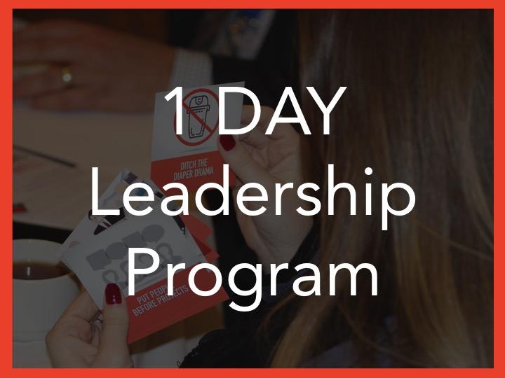 one day leadership training program