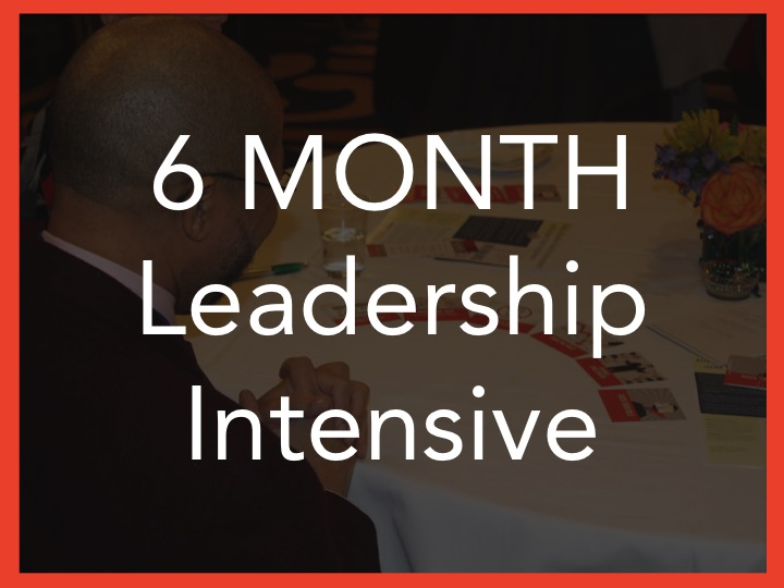 6 month leadership intensive