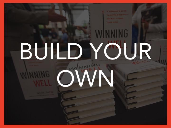 Build your own leadership training program