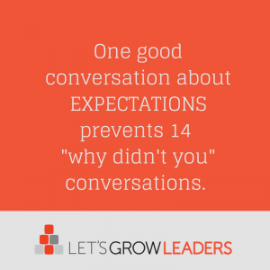 expectations conversations