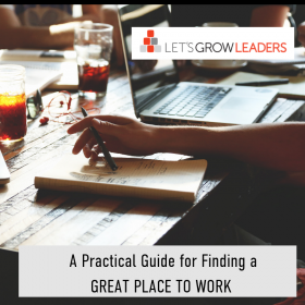 A Practical Guide For Finding a Great Place to Work