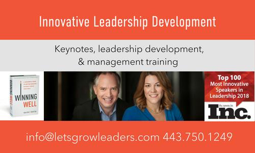 leadership development Karin Hurt and David Dye