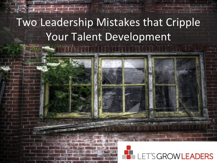 talent development mistakes
