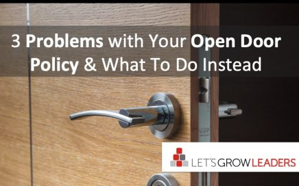 3 problems with open door policy