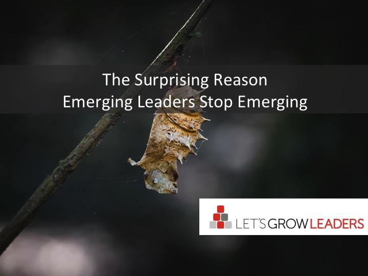 The Surprising Reason Emerging Leaders Stop Emerging