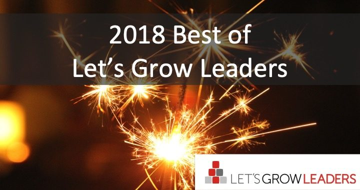 Best Leadership Articles of 2018 (based on your votes)