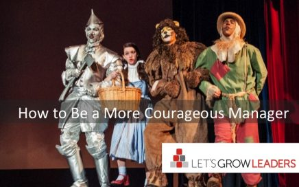 how to be a more courageous manager
