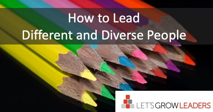 how to lead different and diverse people