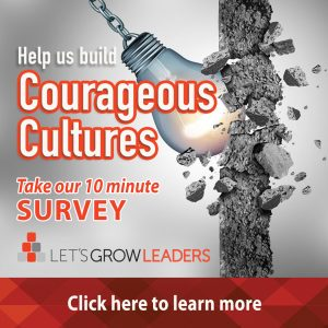 Courageous Cultures survey
