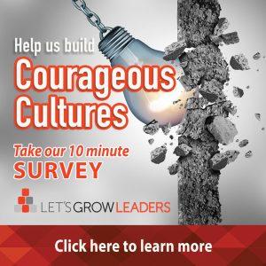 Courageous Cultures survey