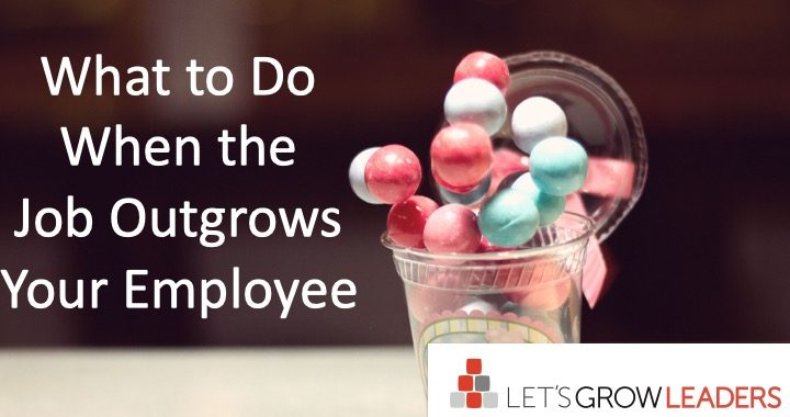 What To Do When the Job Outgrows Your Employee