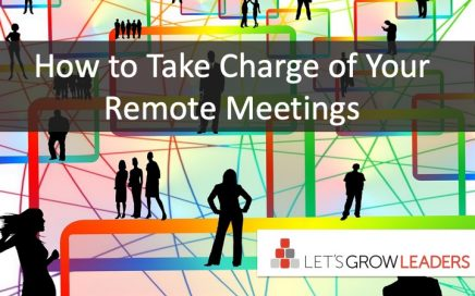 take charge of remote meetings