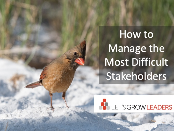 How to Manage the Most Difficult Stakeholders