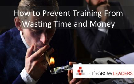 how to prevent training from wasting time and money