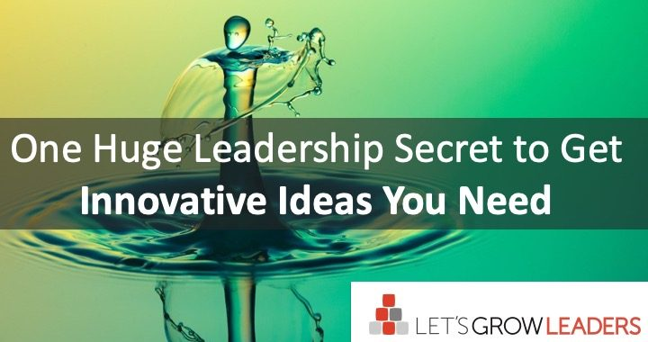 Get Innovative Leadership Ideas You Need