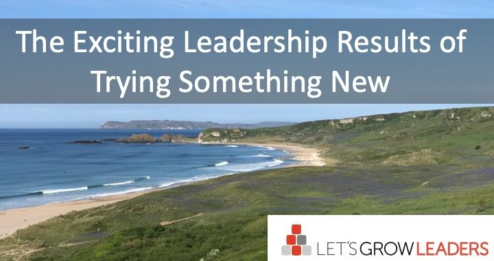 The Exciting Leadership Results of Trying Something New