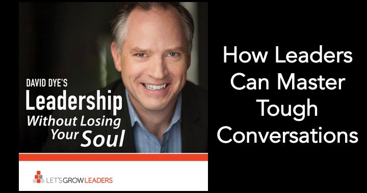 How leaders can master tough conversations