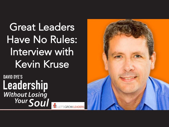 Great Leaders Have No Rules-Interview with Kevin Kruse