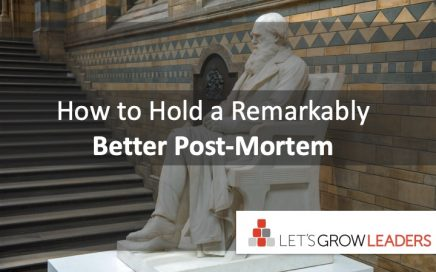 how to hold a remarkably effective post-mortem
