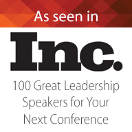 Inc 100 Top Leadership Speaker