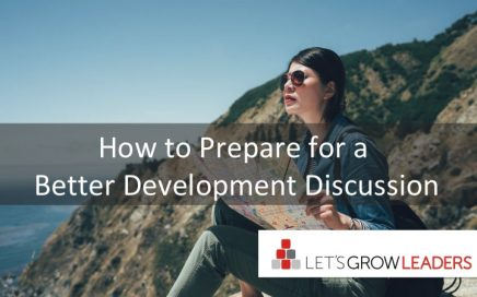 how to prepare for a better development discussion