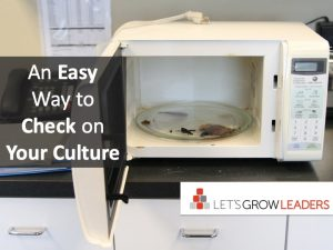 An easy way to check on your culture
