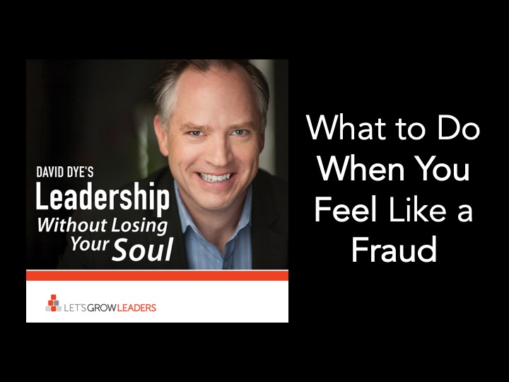 What to do when you feel like a fraud