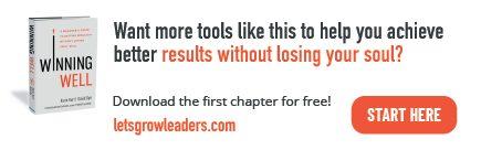 Winning Well leadership development