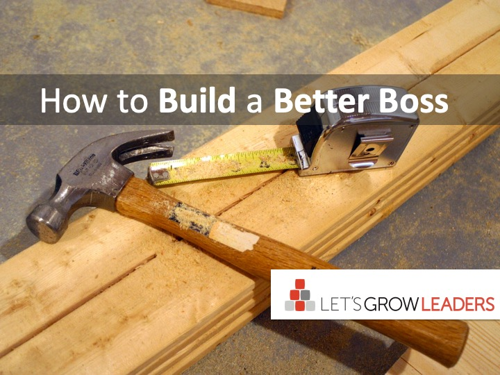 How to build a better boss